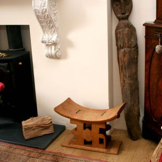 African Tribal Ashanti Stool Or Seat photo