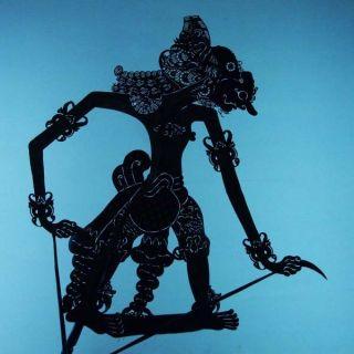 Wayang Kulit Javanese Jawa Schattenspielfigur Marionette Shadow Puppet Gift Cx12 photo
