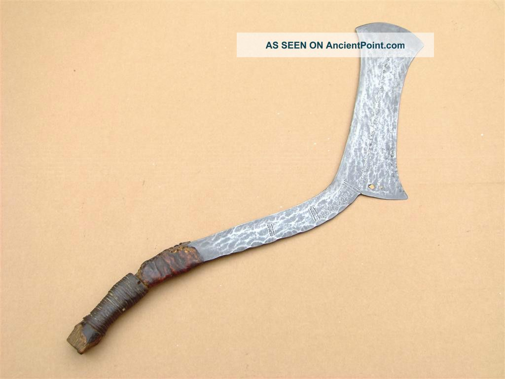 Congo Old African Knife Ancien Couteau Ngombe Doko Afrika Kongo Africa D ' Afrique Other photo