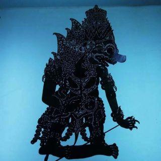 Wayang Kulit Indonesian Schattenspielfigur Marionette Shadow Puppet Gift Da77 photo