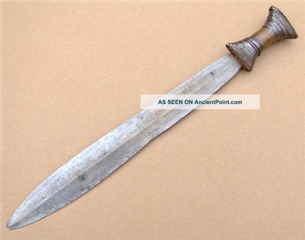 Congo Old African Knife Ancien Couteau D ' Afrique Boa Afrika Africa Kongo Epée Other photo