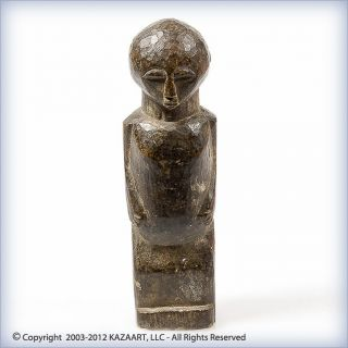 Old Lobi Wood Bateba Phuwe Divination Altar Figure Burkina Faso photo