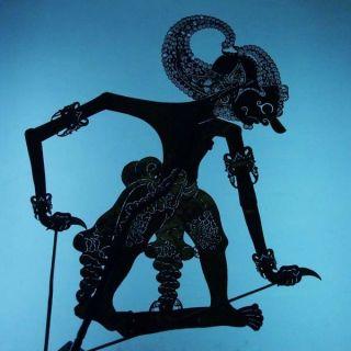 Wayang Kulit Indonesian Schattenspielfigur Marionette Shadow Puppet Gift Cx13 photo