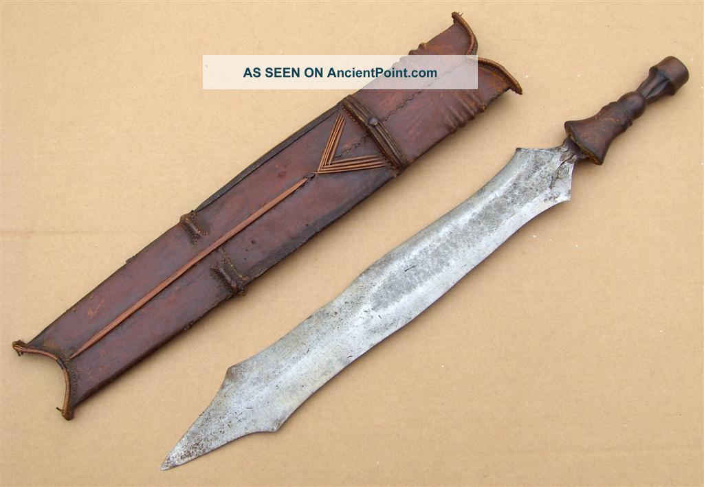 Congo Old African Knife Ancien Couteau Salampasu Afrika Africa Kongo Epée Other photo
