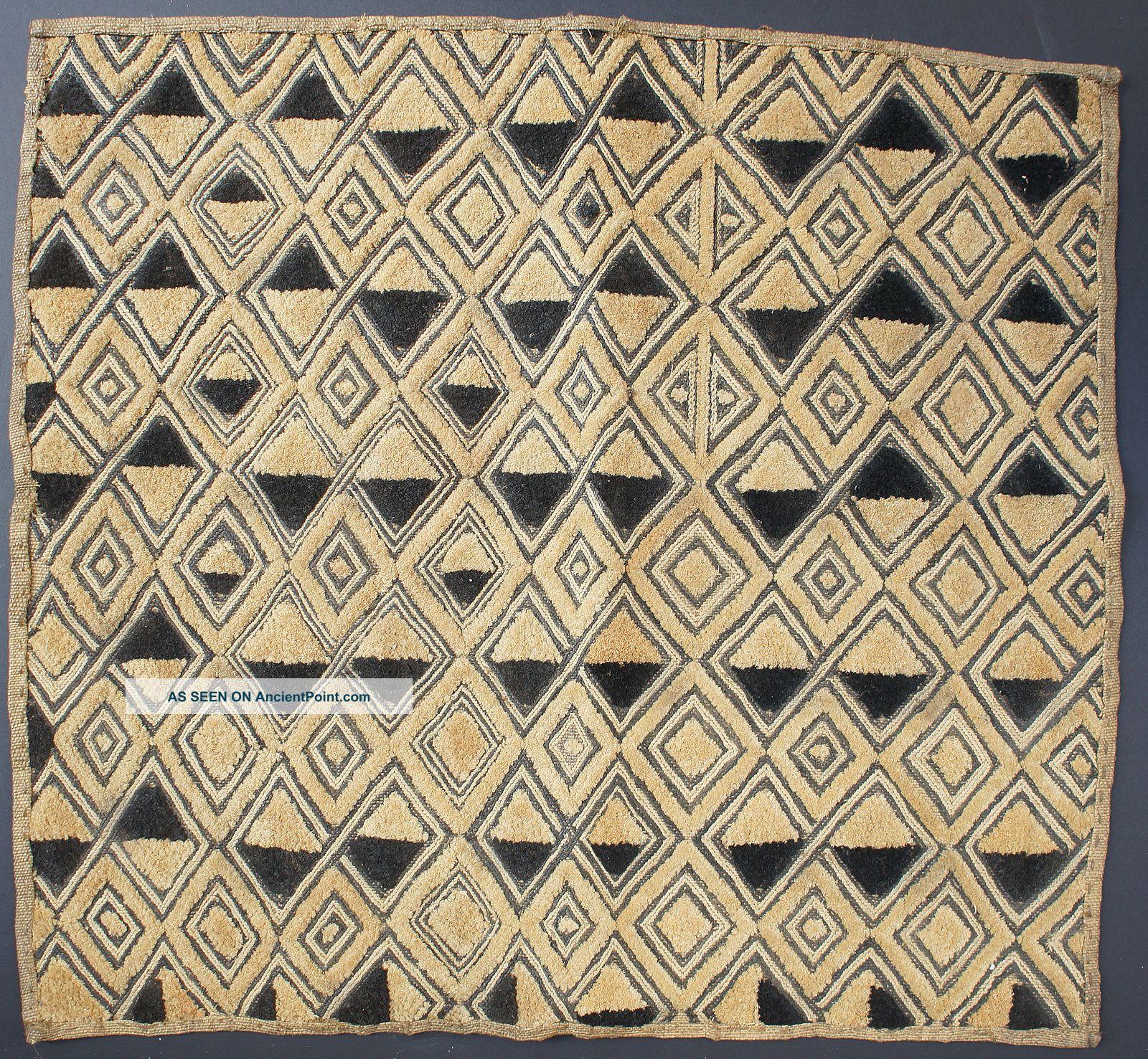 Cloth Textile African Kuba Raffia Currency Kasaai Butala Dr Congo Zaire Ethnix Other photo
