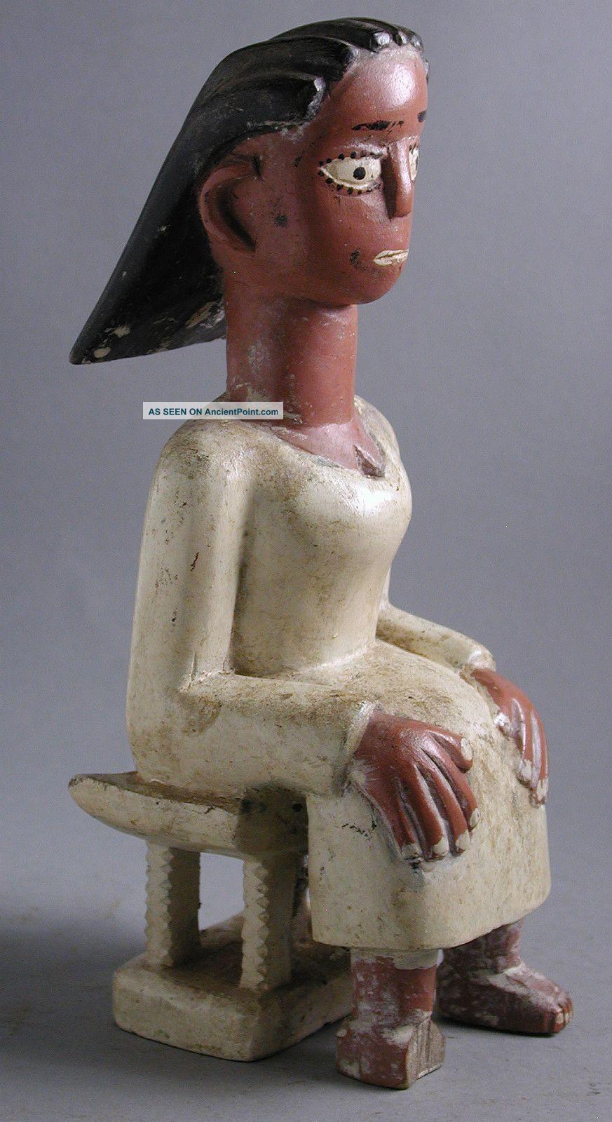 Akan African Ashante Female Ancestral Figure Mami Wata River Spirit Ghana Ethnix Other photo