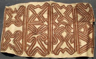 Papoua New Guinea Old Beaten Tapa Bark Cloth Png Indonesia écorce Battu photo
