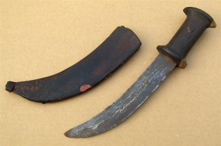 Sudan Old African Knife Ancien Couteau D ' Afrique Bedja Afrika Africa Poignard photo