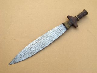 Gabon Old African Knife Poignard Ancien D ' Afrique Fang Africa Afrika Couteau photo