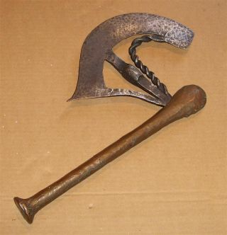 Congo Old African Axe Anciene Hache Afrique Bijl Songye photo