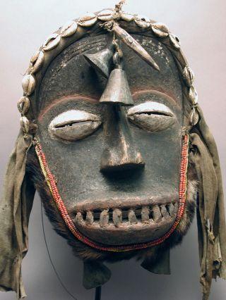 Dan Guere Mask West Africa Cote D ' Ivoire Ethnix photo