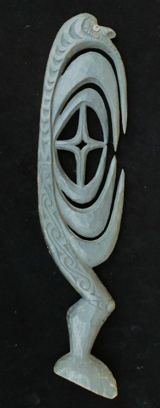 Old Tribal Wood Yipwon Cult Hook Papua New Guinea photo