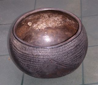 Rwanda Old African Jug Vessel Potterie Twa Ancien Africa Afrika Congo D ' Afrique photo