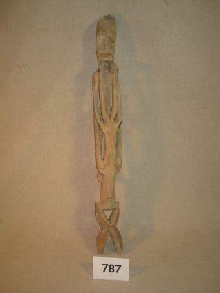 Handcarved Artifact Of Male And Female Ancestors Baron Sepy Dobronyi Estate L787 photo