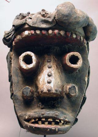 African Dan Guere - Wobe We Fetish Museum Quality Mask Liberia Cote I ' Voire Ethnix photo