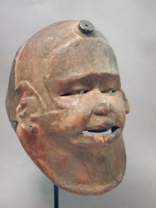 African Makonde Ceremonial Helmet Hair Head Mask Mozambique Tanzania Ethnix photo