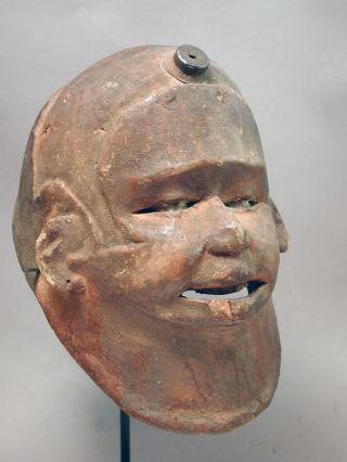 African Makonde Ceremonial Helmet Hair Head Mask Mozambique Tanzania Ethnix photo