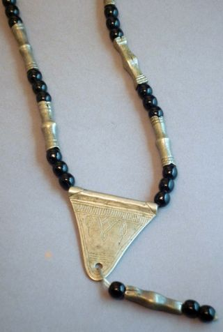 Jewelry Tuareg Sahara African Amulet Talisman Protection Necklace Niger Ethnix photo