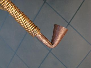 Congo Old African Pipe Anciene D ' Afrique Pijp Luba Kongo Afrika Africa Ancien photo