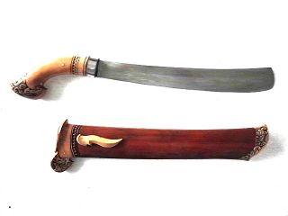 New Golok Sword Java Keris Kriss Kris,  Bv36 photo