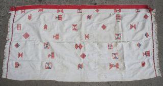Ewe Textile African Clothing Fabric Old Cloth Blanket Wrap Togo Ethnix photo