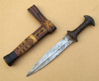 Nigeria Old African Knife / Ancien Couteau Africa Hausa photo