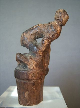 Old Ngaju Dayak Wood Stopper,  Borneo Island,  Central Kalimantan,  Indonesia photo