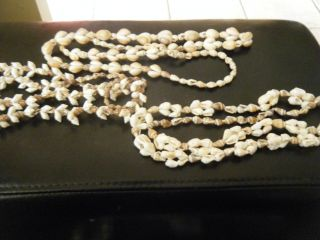 3 New Guinea Vintage Shell Necklaces Bn $50 Ex Con photo