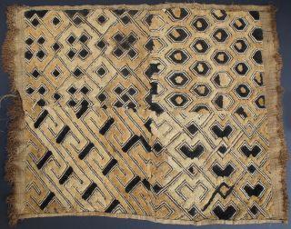 African Textile Kuba Raffia Cloth Currency Kasaai Butala Dr Congo Zaire Ethnix photo