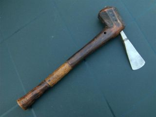 Congo Old African Axe / Anciene Hache D ' Afrique Tchokwe photo