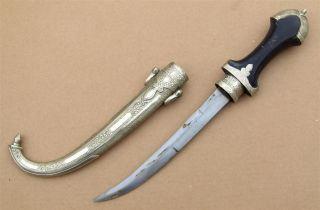 Marocco African Knife Ancien Couteau Afrique Koumiya Afrika Africa Poignard Dolk photo