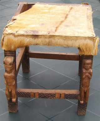Congo Old African Stool Chaise Ancien Lwena Africa Afrika D ' Afrique Stoel Kongo photo