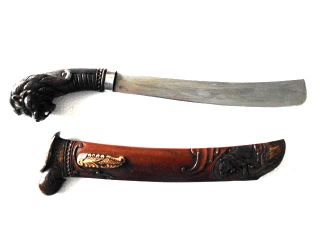 New Lion Golok Sword Java Keris Kriss Kris,  Bv78 photo