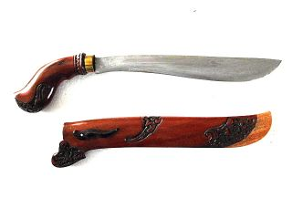 New Golok Sword Java Keris Kriss Kris,  Bv93 photo