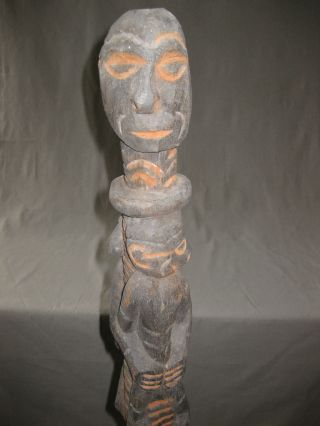 Bis Or Ancestor Pole The Sepik River Region Baron Sepy Dobronyi Collection - L560 photo