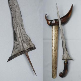 Old Keris 11 Luk Kriss Kris Tangguh Pajajaran (12th Century) Rj39 photo