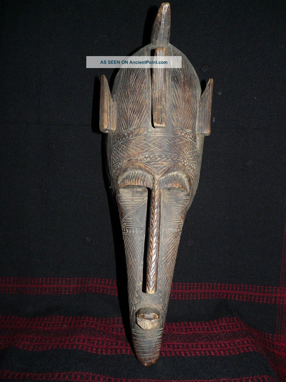 Bamana Kore Mask - Mali Masks photo