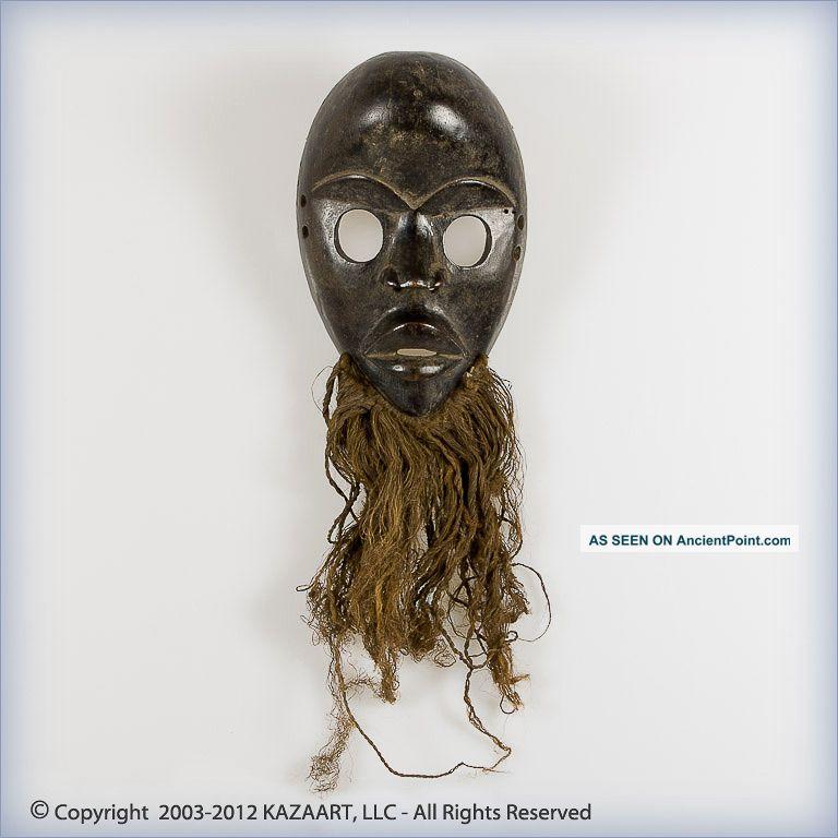 Fine Dan Gunyeya Wood Face Mask Ivory Coast Masks photo
