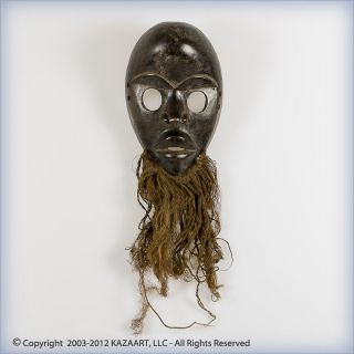 Fine Dan Gunyeya Wood Face Mask Ivory Coast photo