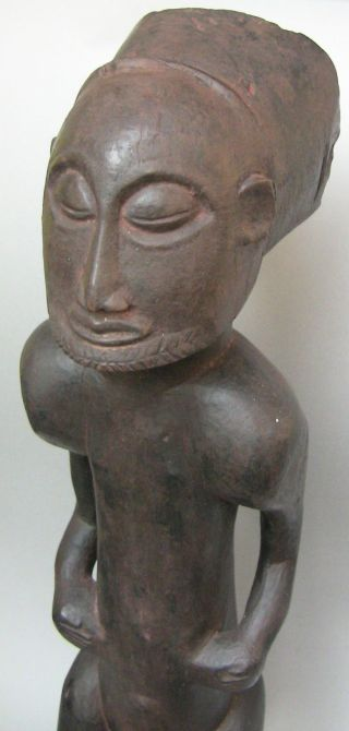 African Tribal Art Good Hemba Ancestor Figure photo