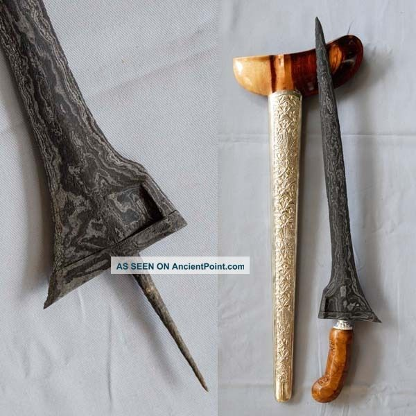 Old Straight Keris Jalak Ruwuh Kriss Kris Tangguh Demak,  Rl50 Pacific Islands & Oceania photo