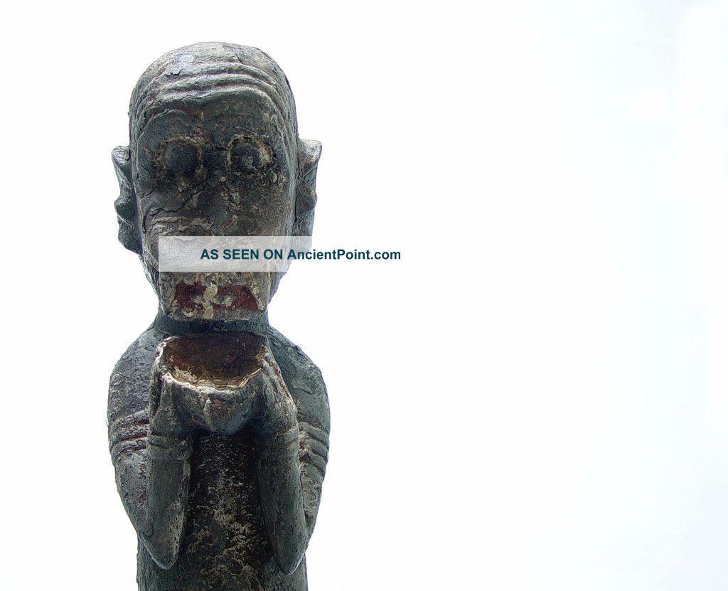 Baule Monkey Figure Sculptures & Statues photo