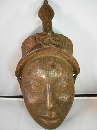 Outstanding Ife Bronz Head,  Nigeria photo