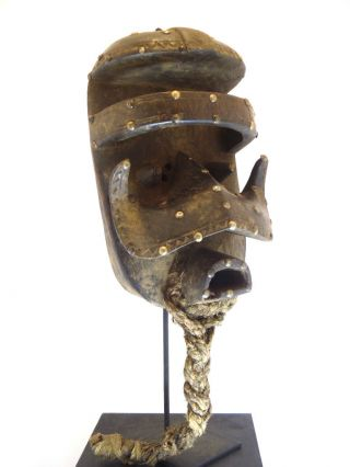 ☆☆☆☆☆ Old African Bete Nyaba War Ceremonial Mask - Www.  Wildbushgallery.  Com photo