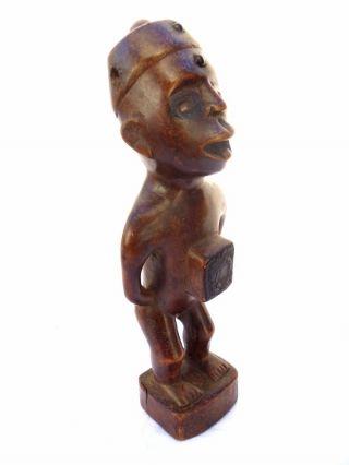 ☆☆☆☆☆ Kongo Yombe Figure From Kongo Nkisi Nkondi Www.  Wildbushgallery.  Com photo
