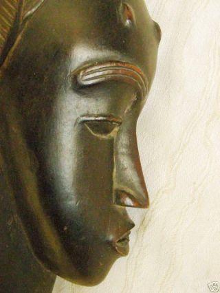 Dan - Yacuba Wood Mask,  Old African Tribal Art photo