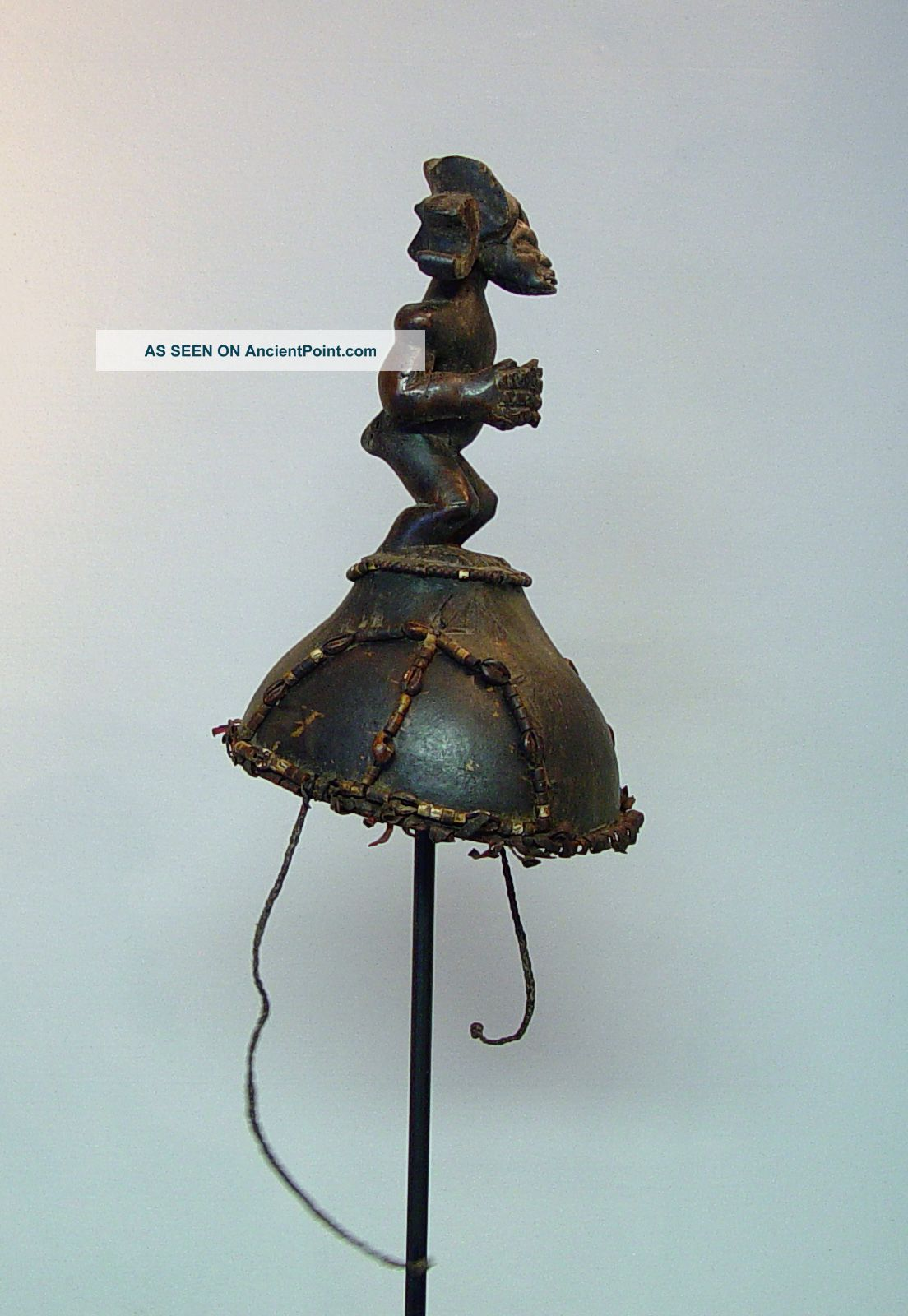 Chokwe Hunting Cap - Angola Sculptures & Statues photo