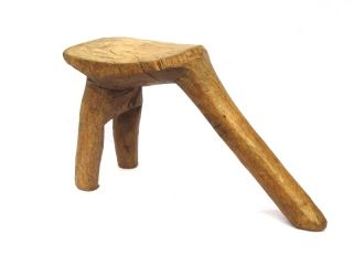 ☆☆☆☆☆ Fine African Lobi Tribe Stool,  Burkina Faso photo