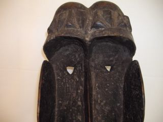 African Single Faced Grebo Animal Mask (articulated Jaw) photo