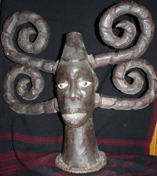 Ekoi Headdress - Nigeria photo